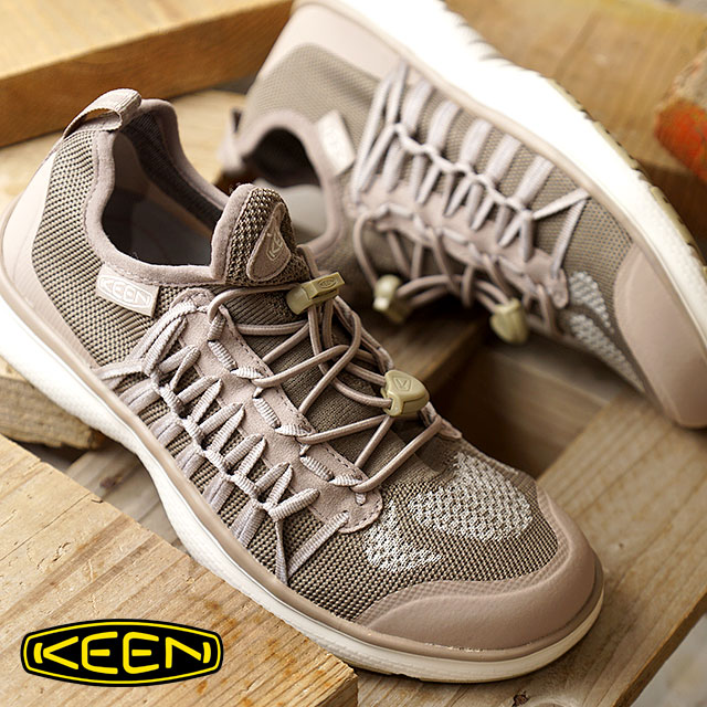 KEEN キーン ユニーク スニーカー 靴 レディース W UNEEK EXO ユニーク エクソ Etherea/Plaza Taupe (1018773 SS18)【コンビニ受取対応商品】