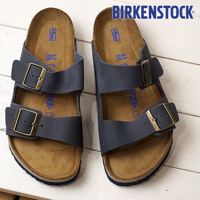 BIRKENSTOCK ビルケンシュトック サンダル 靴 メンズ Arizona SFB アリゾナ ソフトフットベット S.Indigo (GC1008925 SS18)【コンビニ受取対応商品】