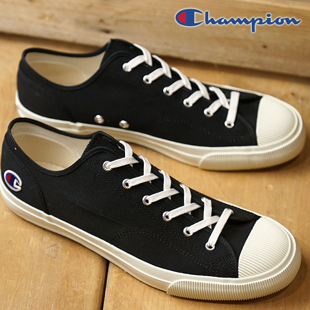 4f114190f20 Champion Footwear champion footwear sneakers shoes ROCHESTER LO CVS  Rochester low canvas men Lady s Black (C2-M704 SS18)