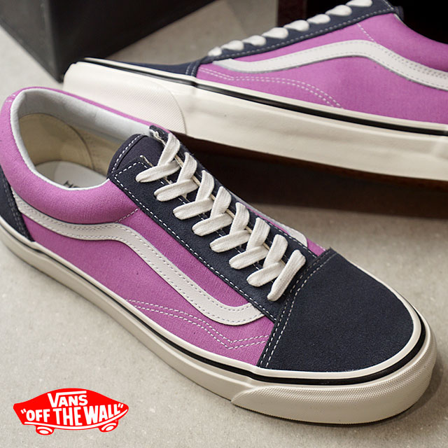 eb0e3b0e80 VANS vans men sneakers shoes Anaheim Factory Old Skool 36 DX Anaheim old  school 36 DX og navy og lilac purple (VN0A38G2R1W SS18)