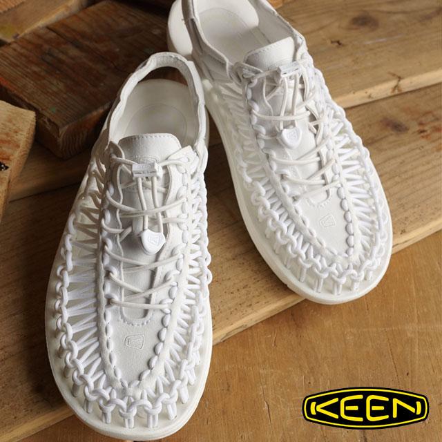 【即納】KEEN キーン メンズ サンダル 靴 UNEEK 3C MEN ユニーク スリーシー Star White (1014098 SS16)【コンビニ受取対応商品】