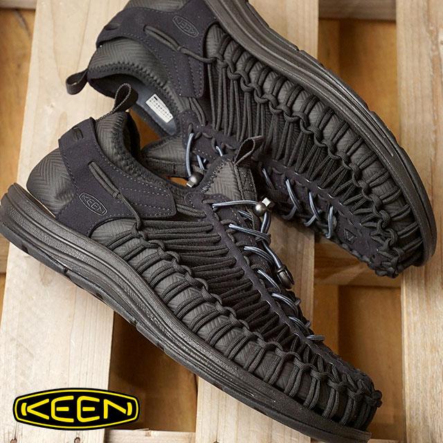 【即納】KEEN キーン スニーカー 靴 サンダル 靴 メンズ MENS UNEEK HT ユニーク エイチティー Black/Black (1018025 FW17)【コンビニ受取対応商品】