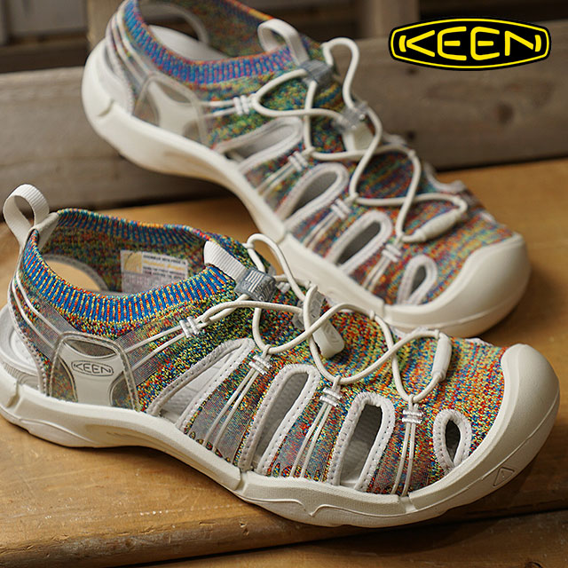 2660575bbfcd KEEN Kean sneakers shoes sandal men M EVOFIT ONE エヴォフィットワン Multicolor White  (1019148 SS18)