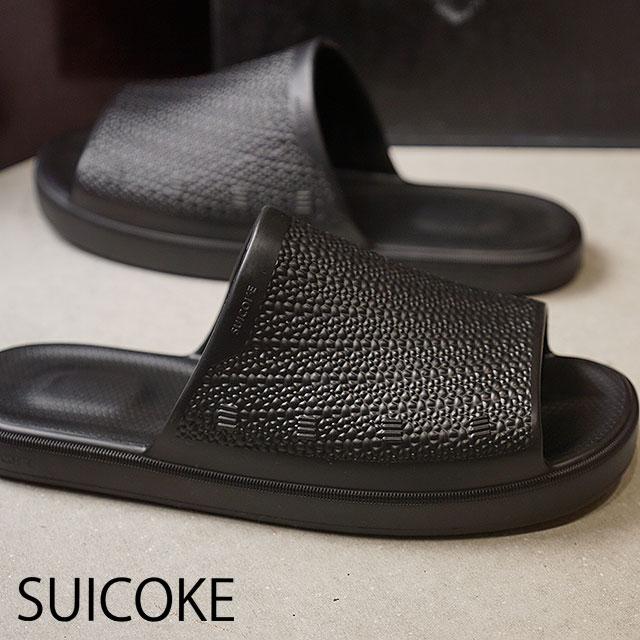 914d1aedb958 SUICOKE Sui cook sandal men SUBIM injection vibram sole slippers sandal  BLACK black (OG-VIBS01 SS18)
