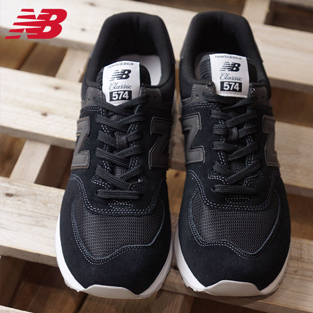 9a6c8d9edd newbalance New Balance men Lady's D Wise ML574 BLACK sneakers shoes  (ML574ETA FW18)