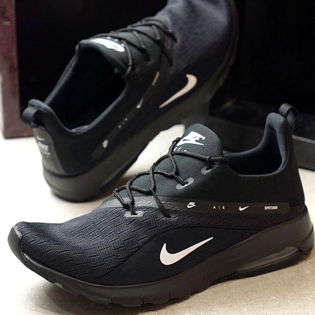 NIKE Nike men sneakers shoes AIR MAX MOTION RACER 2 Air Max motion racer 2 black white (AA2178 002 FW18)