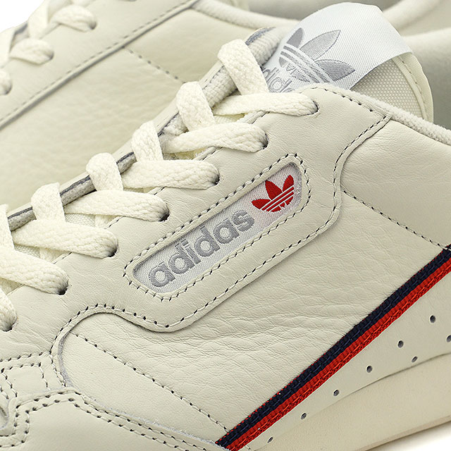 new product fc8b9 ec6e5 Scarlet adidas Originals Adidas originals CONTINENTAL 80 Continental 80  mens ladys sneakers shoes white T S18O white  (B41680 FW18)