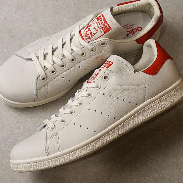 【在庫限り】adidas Originals アディダス オリジナルス Stan Smith スタンスミス メンズ・レディース スニーカー 靴 Cホワイト/Cホワイト/スカーレット (B37898 FW18)【e】【ts】【コンビニ受取対応商品】