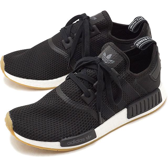 789a3a676 adidas Originals Adidas originals NMD R1 N M D R1 men sneakers shoes C black   C black   gum 3 (B42200 FW18)