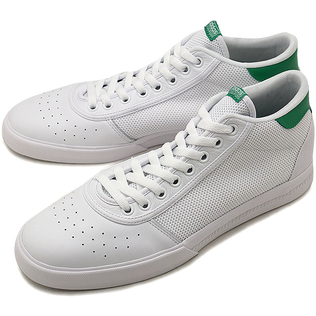 sports shoes 1afd1 bb2c4 adidas Originals Adidas skateboarding LUCAS PREMIERE MID Lucas  プイグミッドメンズスニーカー shoes R white R white  green (B22742 FW18)
