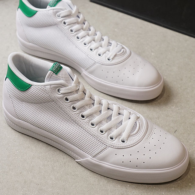 new concept 49dd2 20400 adidas Originals Adidas skateboarding LUCAS PREMIERE MID Lucas  プイグミッドメンズスニーカー shoes R white  R white   green (B22742 FW18)