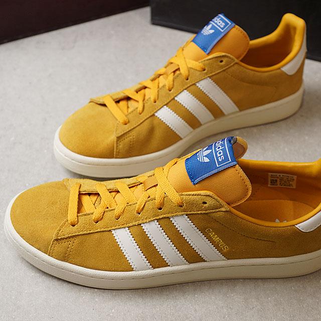 wholesale dealer 4ef0e 9e508 adidas Originals Adidas originals CAMPUS campus men sneakers shoes T yellow  F17C white F18C white (D96736 FW18)