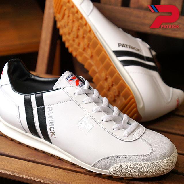【即納】【返品送料無料】パトリック PATRICK アール リバプール R.LIVERPOOL メンズ レディース スニーカー 靴 ホワイト WH (530500 FW18)【コンビニ受取対応商品】