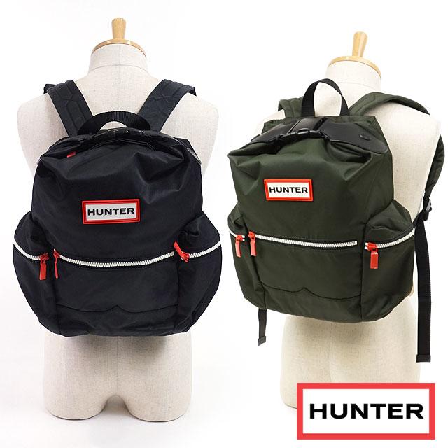 【即納】ハンター HUNTER オリジナル トップクリップ ミニ バックパック ナイロン リュックサック メンズ レディース バッグ かばん ブラック (UBB6018ACD-BLK FW18)【コンビニ受取対応商品】