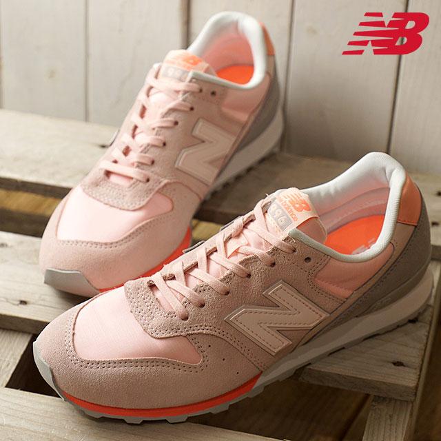 4f594a1e8c New Balance newbalance WR996STG Lady's sneakers pink / gray (WR996STG)