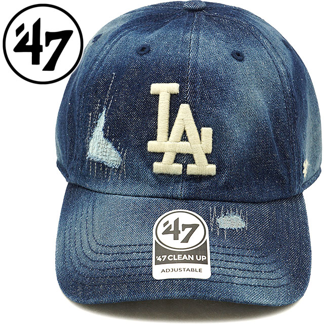 5dab1fe1fd6 Forty seven  47 cap MLB Dodgers Loughlin  47 CLEAN UP Los Angeles Dodgers  men gap Dis adjuster bulldog hat NAVY (LGHLC12DM SS18)