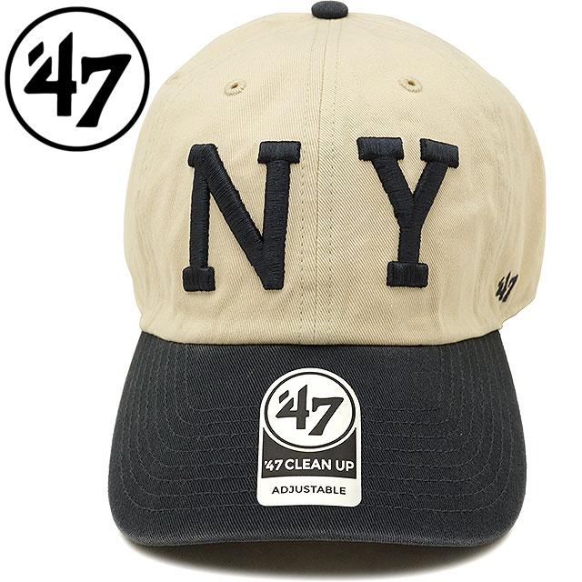 Forty seven  47 cap MLB Yankees Cooperstown  47 CLEAN UP New York Yankees  men gap Dis adjuster bulldog hat NATURAL (RGWTT17GWS SS18) 62c7a72d213