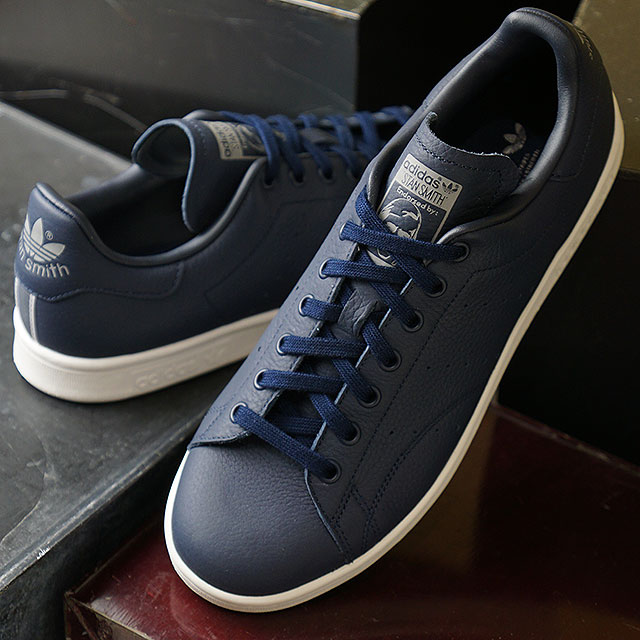 Adidas Stan Smith Weiß Navy Herren