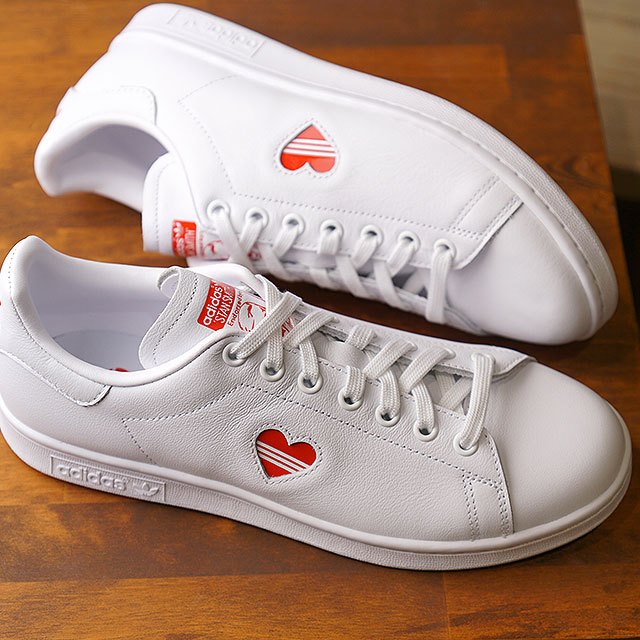 detailed look d72b7 7790c Adidas originals adidas Originals Stan Smith women heart STAN SMITH W  sneakers Lady's shoes running white (G27893 SS19)