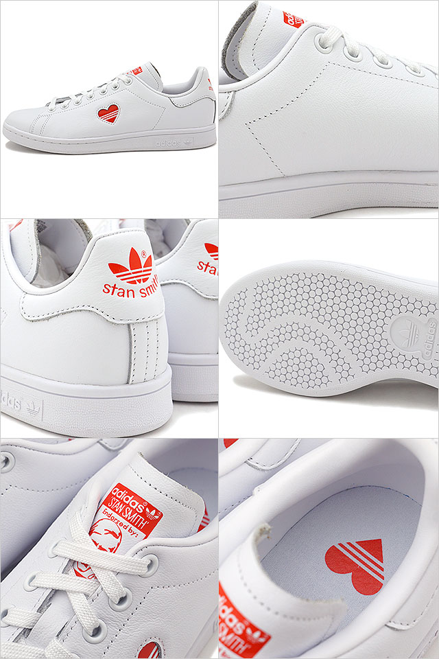 new arrival ec2c0 58a76 Adidas originals adidas Originals Stan Smith women heart STAN SMITH W  sneakers Ladys shoes running white (G27893 SS19)