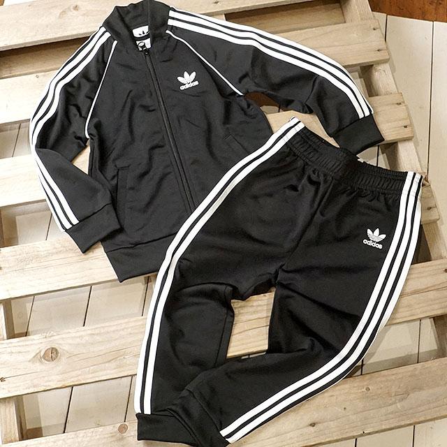 Adidas originals adidas Originals kids setup jersey SST SUIT superstar suit  black   white (FUH83 DV2820 SS19) 3cc887d4ad