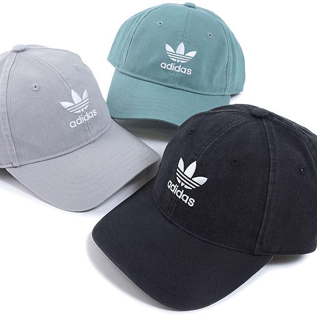 1dff57bc Adidas originals adidas Originals ウォッシュドキャップ AC WASHED CAP adjuster Blue  Train foil logo cap ...