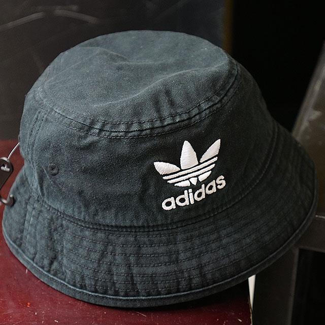 【即納】アディダス オリジナルス adidas Originals バケットハット AC BUCKET HAT トレフォイルロゴハット メンズ レディース 帽子 ブラック/ホワイト (FUA61/DV0863 SS19)【メール便可】