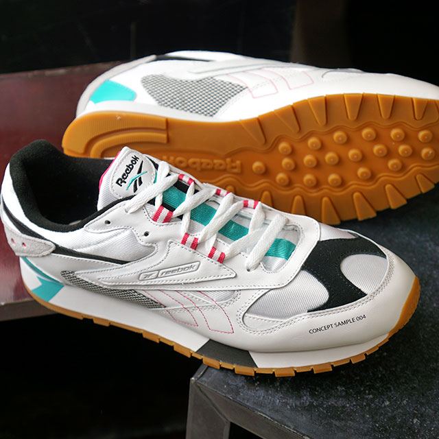 d7be9a5b3a15a1 Reebok classical music Reebok CLASSIC classical music leather Orr terthe  icon CL LTHR ATI 90  S スニーカーメンズレディースダッドシューズ shoes white (DV5373 ...