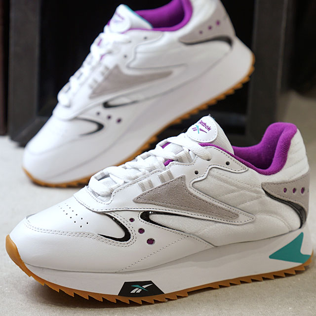 e2bf28586510cb Reebok classical music Reebok CLASSIC classical music leather Orr terthe  icon women CL LTHR ATI 90  S W スニーカーメンズレディースダッドシューズ shoes white ...
