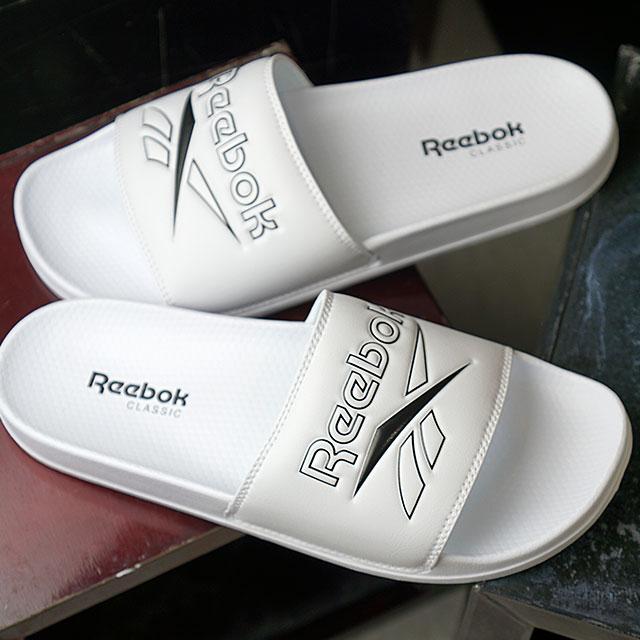 a44c6d829f78 Reebok classical music Reebok CLASSIC slide REEBOK CLASSIC SLIDE shower  sandals men shoes white (DV4909 SS19)