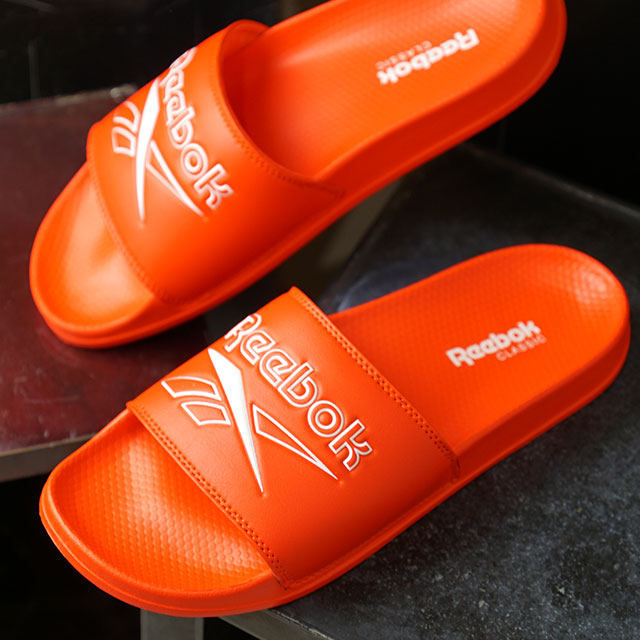 2a7e2a0fdf8 SHOETIME  Reebok classical music Reebok CLASSIC slide REEBOK CLASSIC SLIDE  shower sandals men shoes Guangdong red (DV4910 SS19)