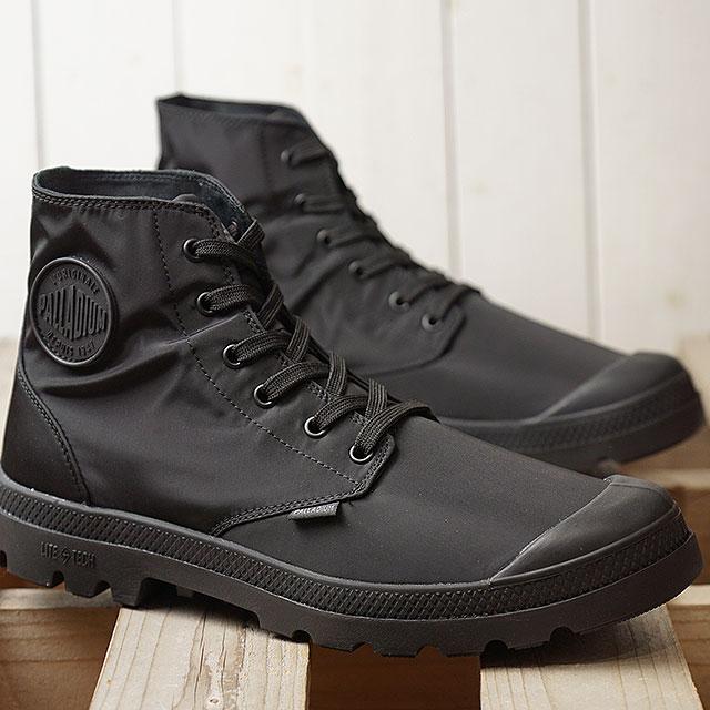 【月間優良ショップ】パラディウム PALLADIUM パンパ パドルライト WPプラス PUMPA PUDDLE LITE WP+ メンズ レディース スニーカー 靴 BLACK/CHARCOAL (76357-022 SS19)