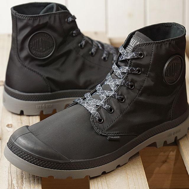 【即納】パラディウム PALLADIUM パンパ パドルライト WPプラス PUMPA PUDDLE LITE WP+ メンズ レディース スニーカー 靴 BLACK/METAL (76357-005 SS19)