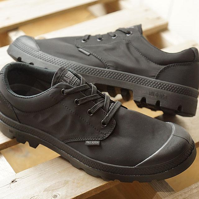 パラディウム PALLADIUM パンパ ロー パドルライト WPプラス PUMPA OX PUDDLE LITE WP+ メンズ レディース スニーカー 靴 黒/黒 (76356-022 SS19)