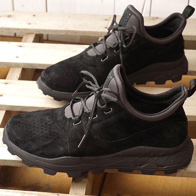 【即納】ティンバーランド Timberland ブルックリン レース オックスフォード Brooklyn Lace Oxford メンズ スニーカー 靴 Black Suede (A1W9B SS19)
