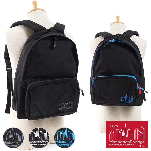 【即納】マンハッタンポーテージ Manhattan Portage リフレクティブコード ビッグアップル バックパック JR Big Apple Backpack JR リュックサック デイパック メンズ レディース かばん (MP1210JRRFC FW18)