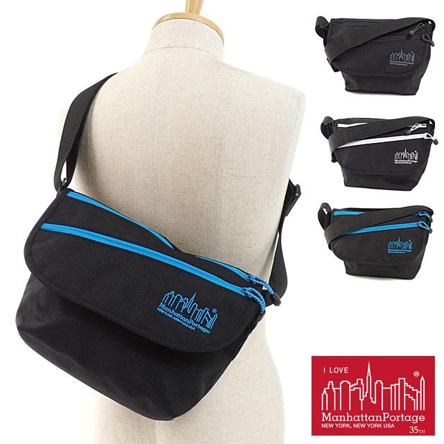 【即納】マンハッタンポーテージ Manhattan Portage リフレクティブコード カジュアルメッセンジャーバッグ JR Casual Messenger Bag JR ショルダーバッグ メンズ レディース かばん (MP1605JRRFC FW18)