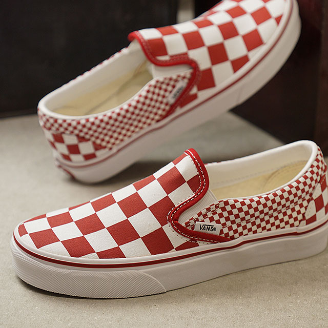 0063fdb4e7c SHOETIME  Vans VANS mixture checker classical music slip-on MIX ...