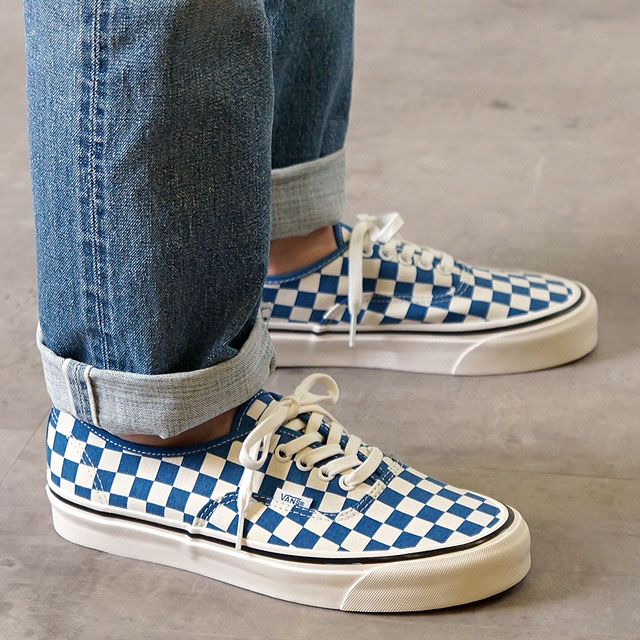 bda205dacaa16f 44 vans VANS Anaheim factory authentic DX ANAHEIM FACTORY AUTHENTIC 44 DX  men gap Dis station wagons sneakers shoes OG BLUE CHECK (VN0A38ENVKX SS19)