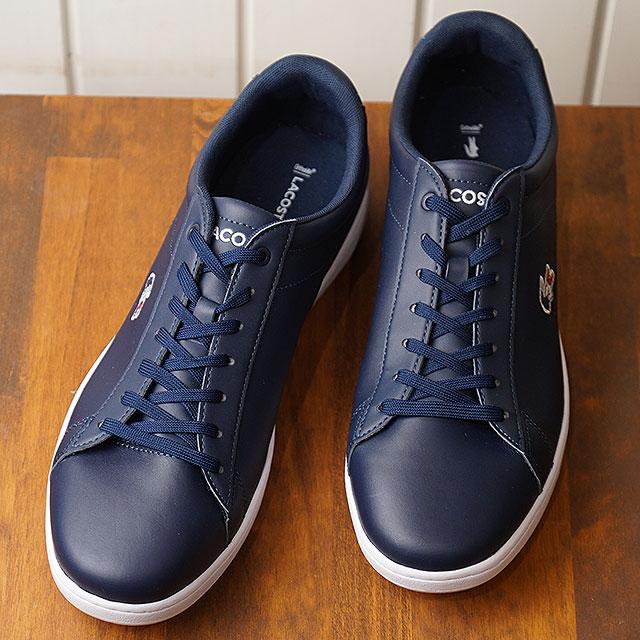 【即納】ラコステ LACOSTE メンズ カーナビー エボ MNS CARNABY EVO 119 7 SMA スニーカー 靴 NVY/WHT/RED ネイビー系 (SMA0013-7A2 SS19)