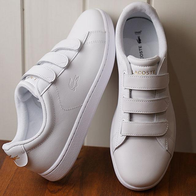 kolejna szansa niska cena style mody Lacoste LACOSTE レディースカーナビーエボ WMS CARNABY EVO STRAP 1191SFA sneakers shoes  WHT/WHT white system (SFA024-21G SS19)