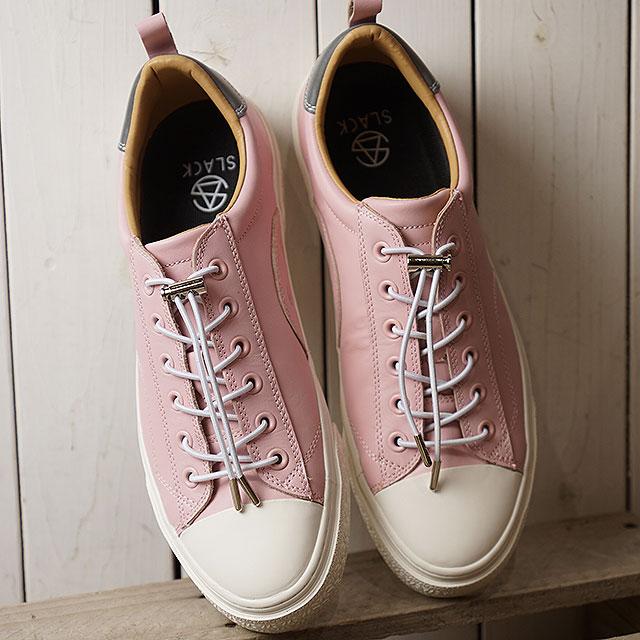 【即納】スラック SLACK クルード SL CLUDE SL メンズ レディース スニーカー 靴 LIGHT PINK/WHITE ピンク系 (SL1502-611 SS19)