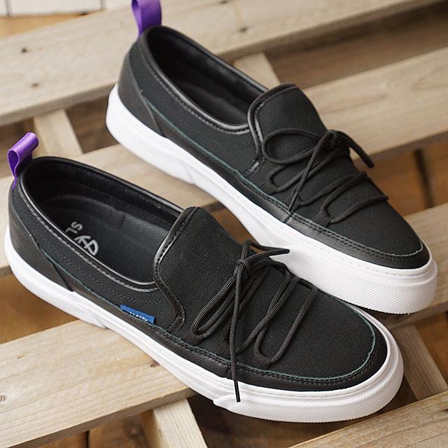 【即納】スラック SLACK イントループ INTLOOP メンズ レディース スリッポン スニーカー 靴 BLACK/WHITE ブラック系 (SL1532-001 SS19)