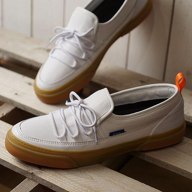 スラック SLACK イントループ INTLOOP メンズ・レディース スリッポン スニーカー 靴 WHITE/GUM ホワイト系 (SL1532-189 SS19)【ts】【e】