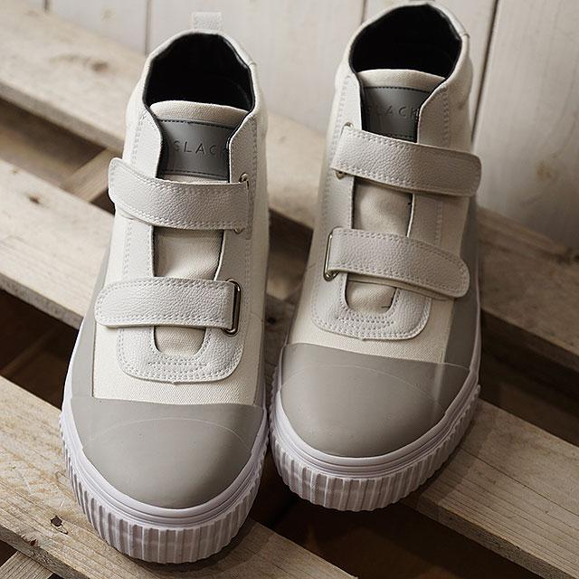 【即納】スラック SLACK ブレント BLENT メンズ レディース ベルクロ スニーカー 靴 WHITE/LIGHT GRAY/WHITE ホワイト系 (SL1545-161 SS19)