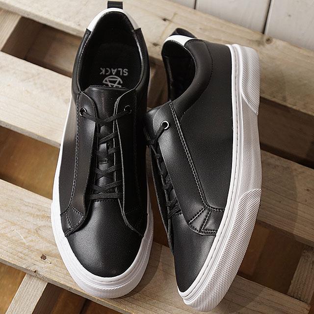 【即納】スラック SLACK リベリオ LIBERIO メンズ レディース スニーカー 靴 BLACK/WHITE ブラック系 (SL1518-001 SS19)