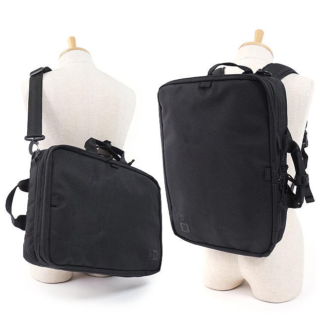 【即納】ニューエラ バッグ NEWERA ビジネスバッグ 3ウェイ ブリーフバッグ 3WAY BRIEF BAG メンズ レディース バックパック リュックサック デイパック 通勤 通学 かばん ブラック系 (11901527 SS19)