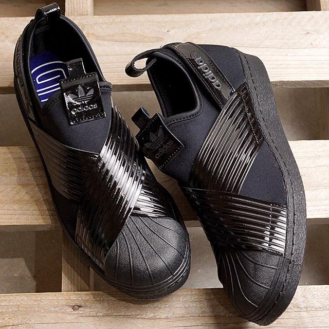 【即納】アディダス オリジナルス adidas Originals スーパースター スリップオン アウトラウド ウィメンズ SS SLIP ON OUT LOUD W スリッポン スニーカー レディース 靴 コアブラック (BD8055 SS19)