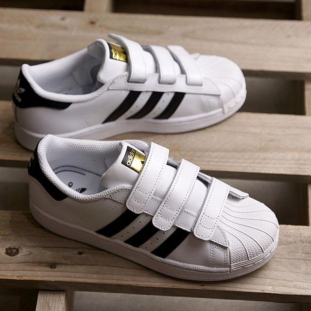 new york 8ed47 a81e4 Adidas originals adidas Originals superstar foundation CFC SS FOUNDATION CF  C Velcro sneakers kids Jr. ...
