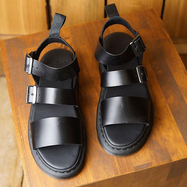 【月間優良ショップ】ドクターマーチン Dr.Martens レザーサンダル グリフォン GRYPHON BRANDO メンズ レディース 靴 BLACK (15695001 SS19)